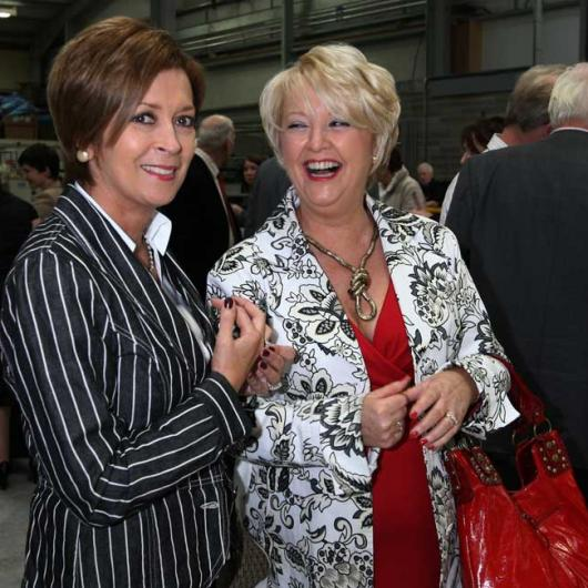 Anglo Celebrating 25 Years in Business - 9th October 2008. Bernadette Davis & Linda Considine